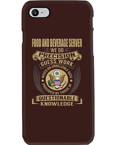 Food and Beverage Server - We Do