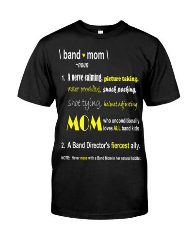 band mom   - Noun
