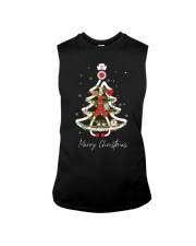 Nurse Tree Christmas Sleeveless Tee thumbnail