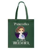 Pricesses Are Born in December Tote Bag thumbnail