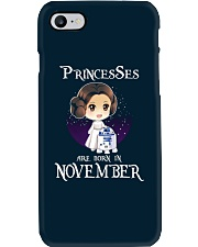 Pricesses Are Born in November Phone Case thumbnail