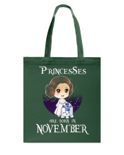Pricesses Are Born in November Tote Bag thumbnail