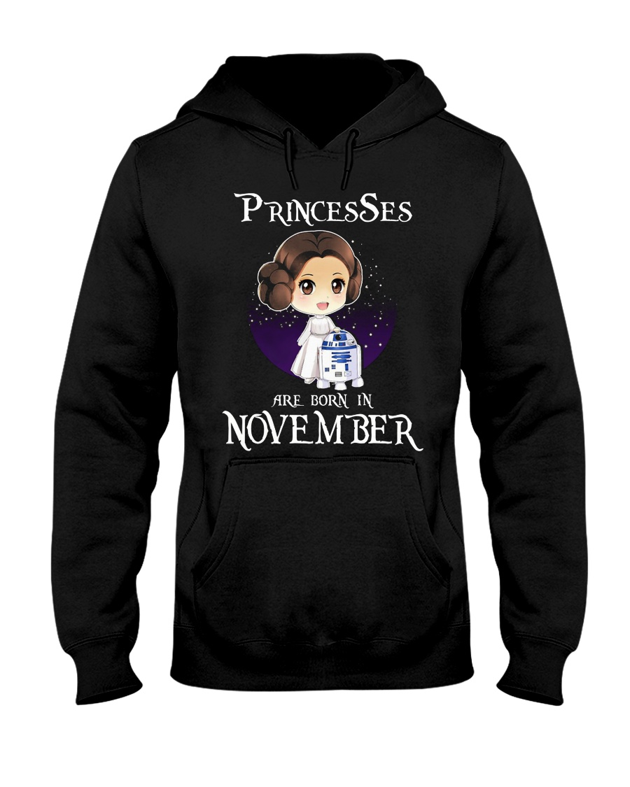 Pricesses Are Born in November Hooded Sweatshirt