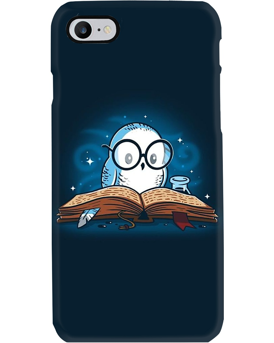 OWL BOOK XL IP Phone Case