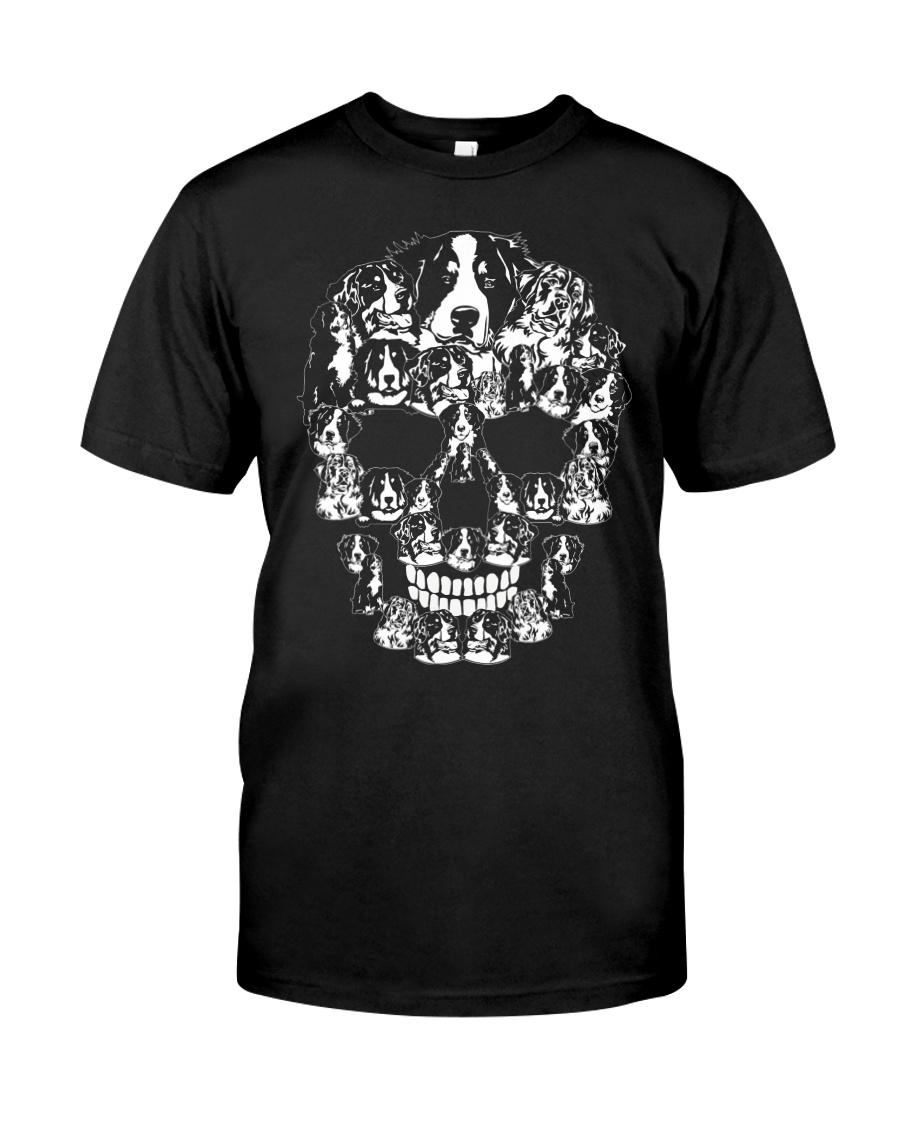 Bernese Mountain Dog Shirt Halloween Sku Classic T-Shirt