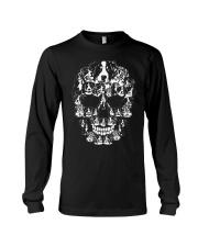 Bernese Mountain Dog Shirt Halloween Sku Long Sleeve Tee thumbnail