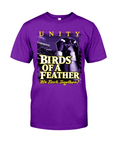 Birds Of A Feather We Flock Together Ravens Shirt