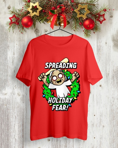 Grannys Christmas Holiday Fear Shirt