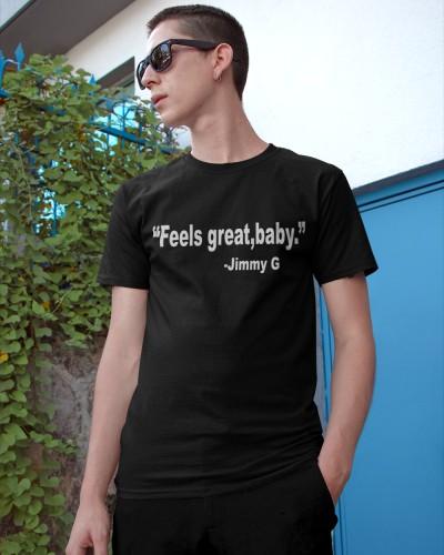 Feels Great Baby Shirt Jimmy