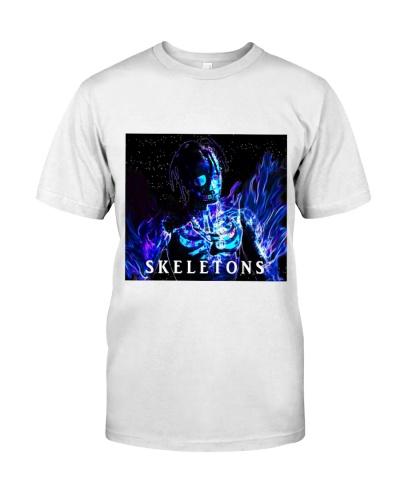 travis scott skeletons merch shirt