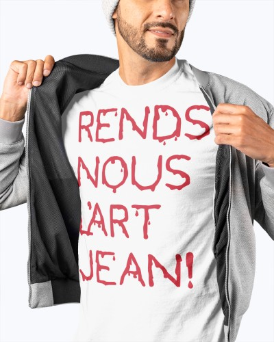 rends nous lart jean t shirt