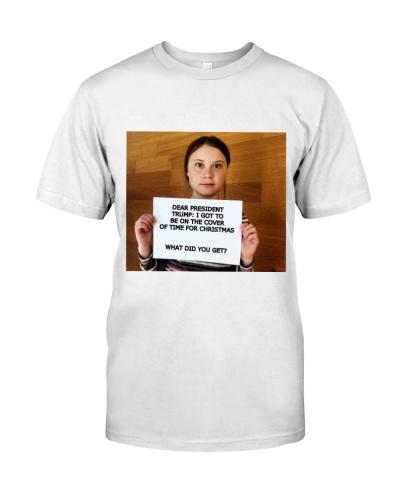Greta Thunberg President of the United State Shirt