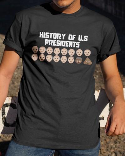 History of US presidents Apparel Shirt