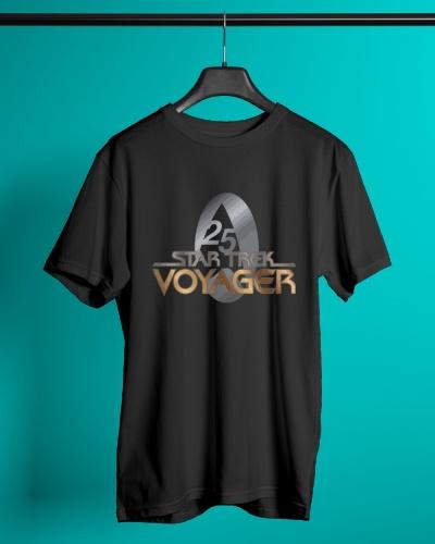 Star Trek Voyager Gold 25 Shirt