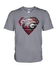 the best gift for fans V-Neck T-Shirt thumbnail
