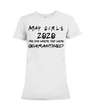 May girl 2020 Premium Fit Ladies Tee front