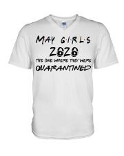 May girl 2020 V-Neck T-Shirt thumbnail