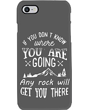 ANY ROCK WILL GET YOU THERE - W Phone Case thumbnail