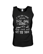 ANY ROCK WILL GET YOU THERE - W Unisex Tank front