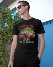 PoppopThe Man The Myth The Bad Influence Vintage Classic T-Shirt apparel-classic-tshirt-lifestyle-17