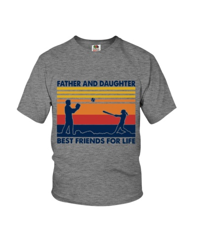Father And Daughter Best Friends For Life T-Shirt