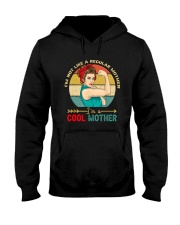 I'm Not Like A Regular Mother I'm A Cool Mother Hooded Sweatshirt front