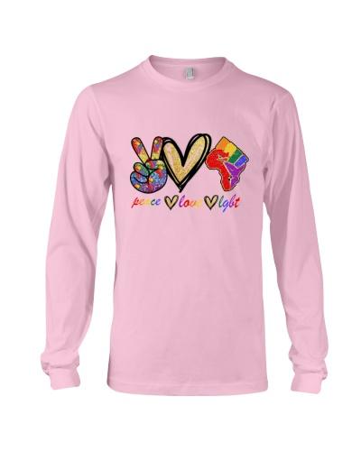 Peace Love LGBT