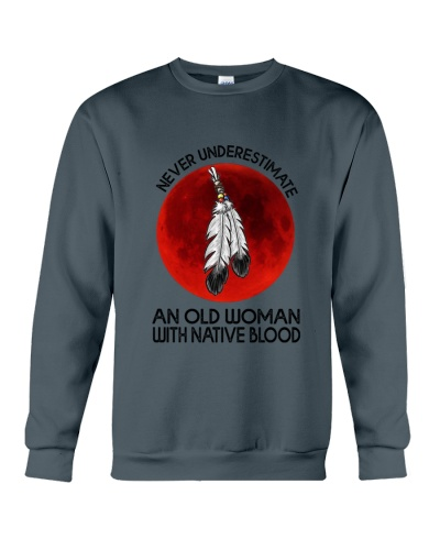 Never Underestimate An Old Woman With Native Blood