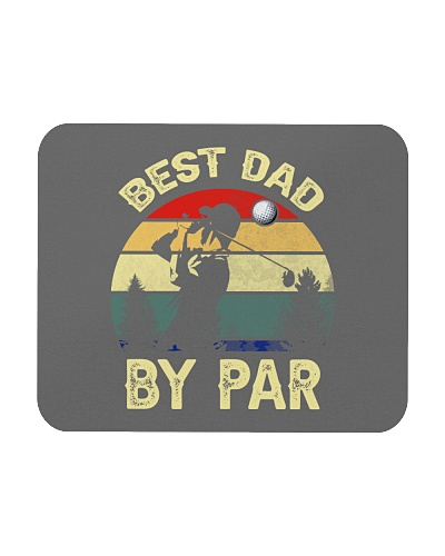 Best Dad By Par Vintage Retro T-Shirt