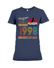 22 Years Old Gift Women Men 22th Birthday May 1998 Premium Fit Ladies Tee front