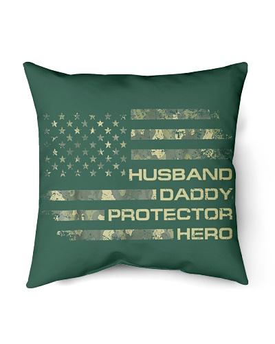 Husband Daddy Protector Hero Veteren Army