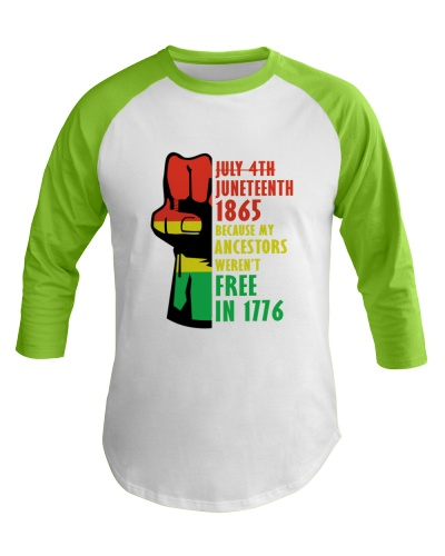 July 4th Juneteenth 1865 Black Lives Matter