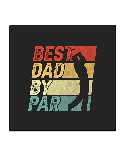 Best Dad By Par Vintage Retro T-Shirt