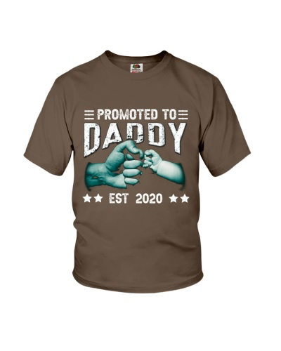 Promoted To Daddy Est 2020 Father's Day T-Shirt