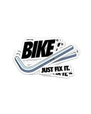 MTB Sticker Bike Just Fix It Sticker - 4 pack (Vertical) front