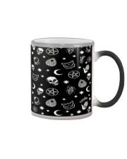 Skull Face Mask QV 6 Color Changing Mug thumbnail
