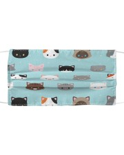 Cat Face Mask 100468686868 hhh Cloth face mask front