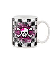 QV Skull Love Face Mask Mug tile