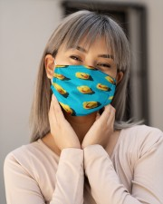 Duck Face Mask 2 Cloth face mask aos-face-mask-lifestyle-17