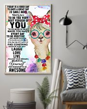 To day is a good day 11x17 Poster lifestyle-poster-1