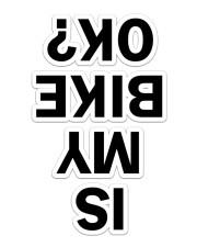 MTB Sticker 10 Sticker - Single (Vertical) front