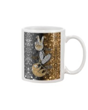 Phone Peace Love Sloth Mug thumbnail