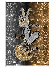 Phone Peace Love Sloth 11x17 Poster thumbnail