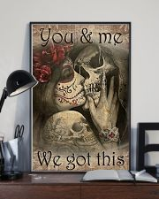 You And Me We Got This 2 11x17 Poster lifestyle-poster-2