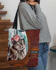 Cat Lady All-over Tote aos-all-over-tote-lifestyle-front-09