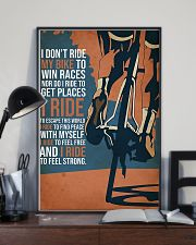 I Ride My Bike 11x17 Poster lifestyle-poster-2