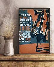 I Ride My Bike 11x17 Poster lifestyle-poster-3