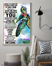 Turtle Good Day 11x17 Poster lifestyle-poster-1