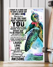 Turtle Good Day 11x17 Poster lifestyle-poster-4