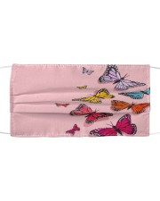 Butterfly Face Mask 28 Cloth face mask front